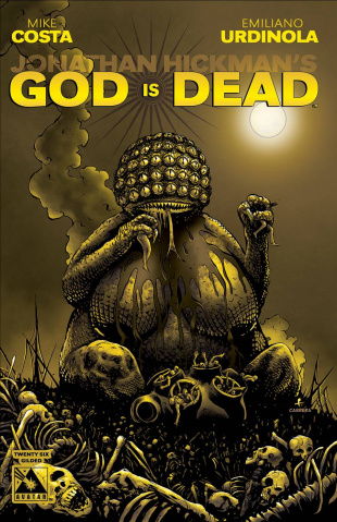 God Is Dead #26 (Gilded Cover)
