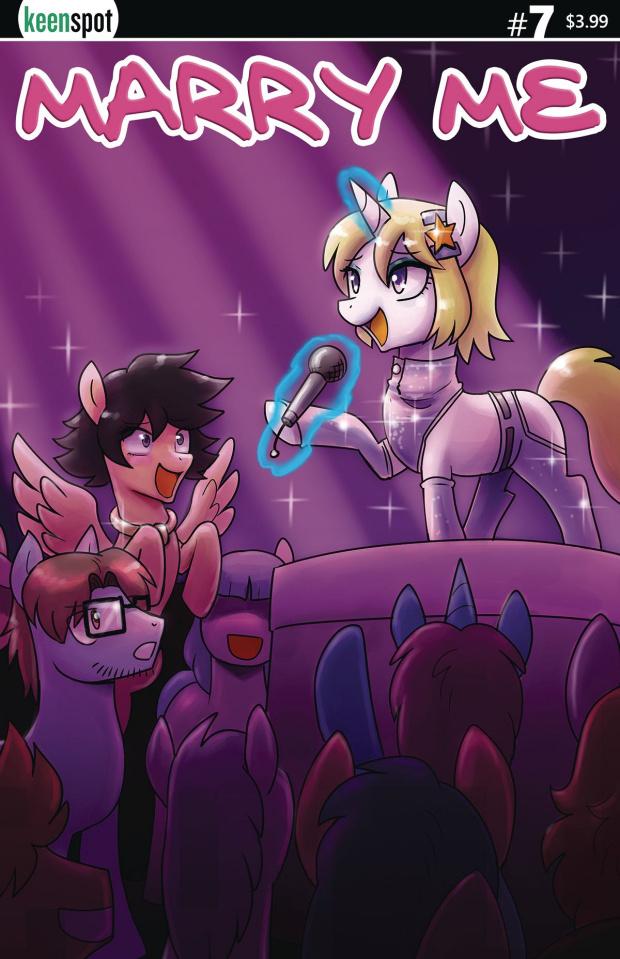 Marry Me #7 (Joseco Pony Parody Cover)