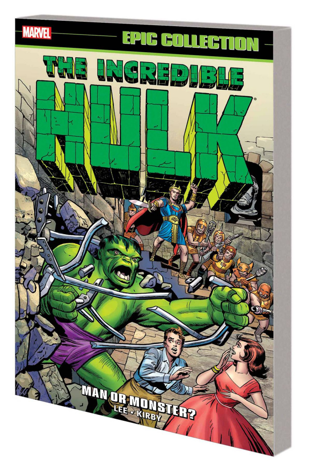 The Incredible Hulk Epic Collection: Man or Monster?