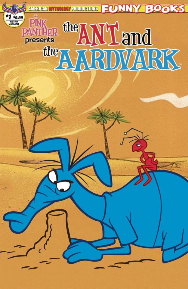 The Ant and The Aardvark #1 (Flashback Cover)