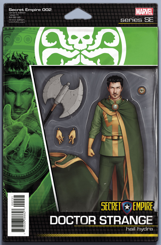 Secret Empire #2 (Christopher Action Figure Cover)