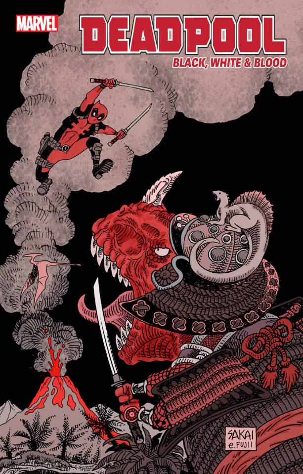 Deadpool: Black, White & Blood #3 (Sakai Cover)