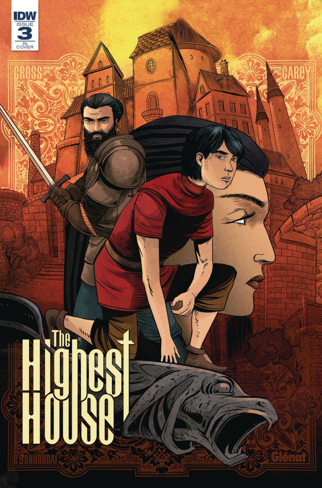 The Highest House #3 (10 Copy Cover)