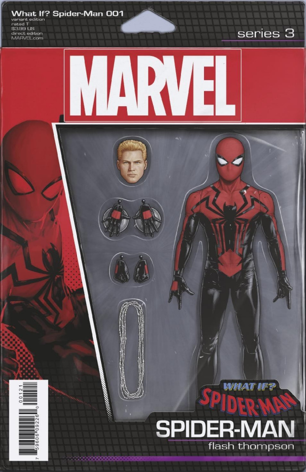 What If? Spider-Man #1 (Christopher Action Figure Cover)