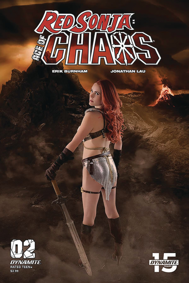 Red Sonja: Age of Chaos #2 (Cosplay Cover)