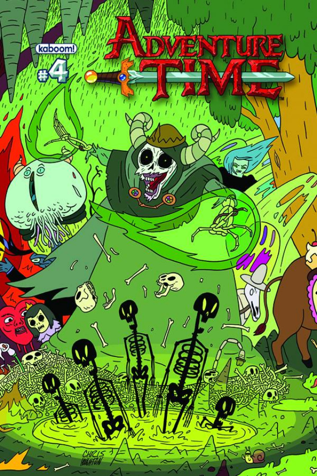 Adventure Time #4 (New Printing)