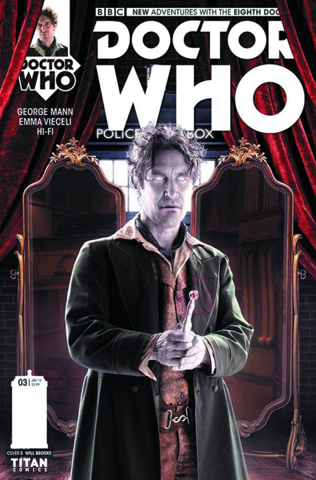 Doctor Who: New Adventures with the Eighth Doctor #3 (Subscription Cover)