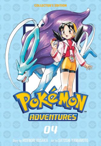 Pokémon Adventures Vol. 4 (Collector's Edition)