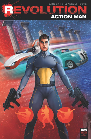 Action Man: Revolution #1 (10 Copy Cover)