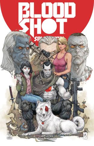 Bloodshot: Salvation #12 (Rocafort Cover)