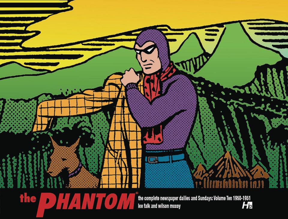 The Phantom: The Complete Newspaper Dailies Vol. 10: 1950-1951