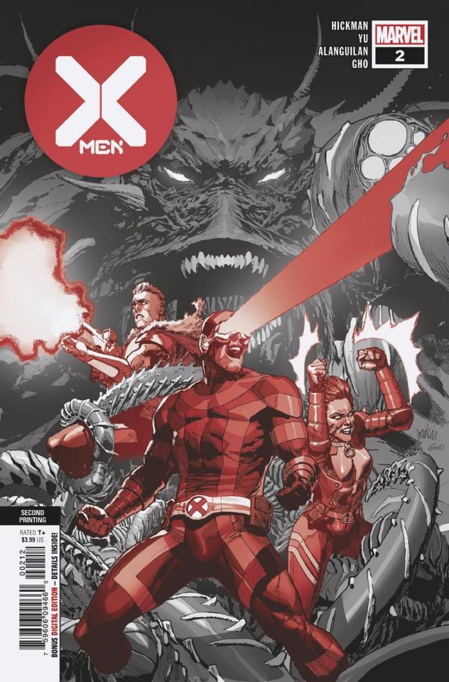 X-Men #2 (Yu 2nd Printing)