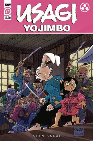 Usagi Yojimbo #24 (Sakai Cover)