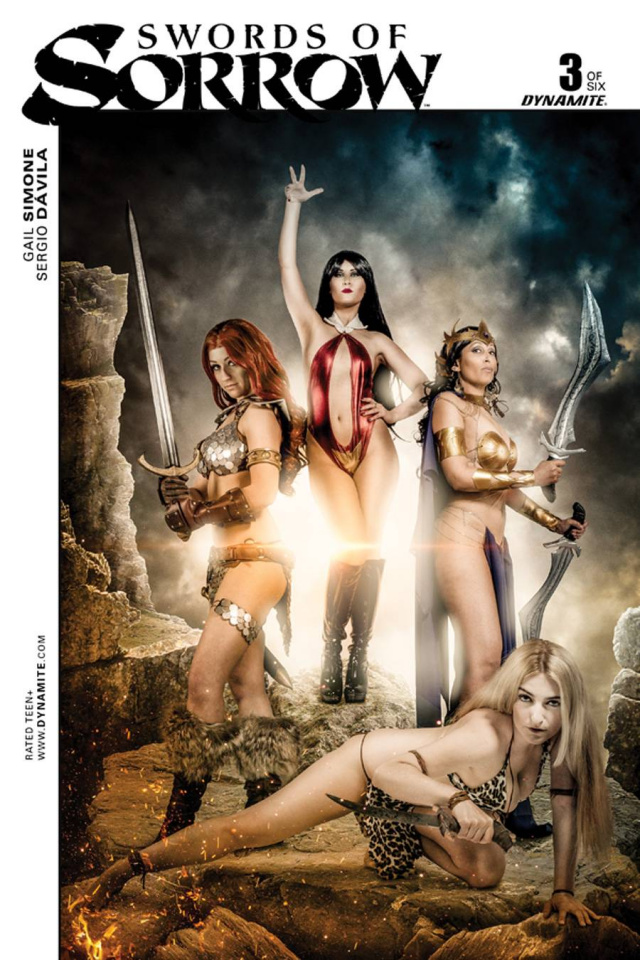 Swords of Sorrow #3 (Foc Cosplay Cover)