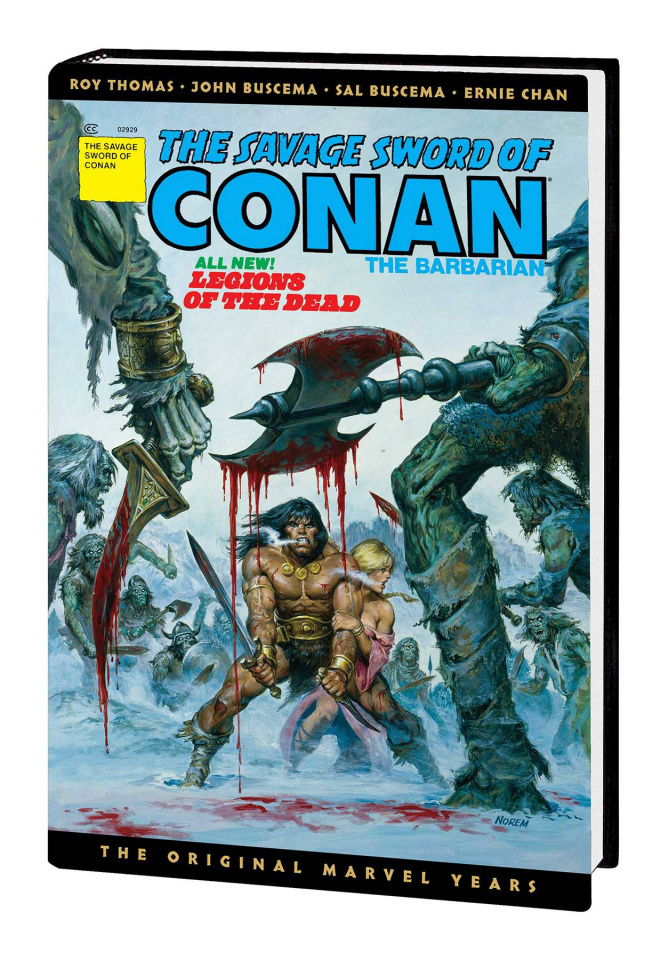 The Savage Sword of Conan: The Original Marvel Years Vol. 3 (Omnibus)