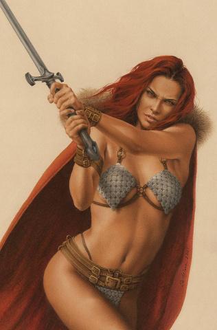 The Invincible Red Sonja #2 (Celina Virgin Cover)