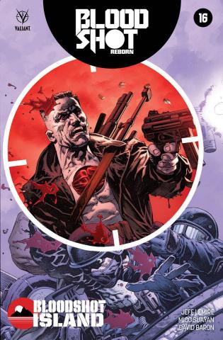 Bloodshot: Reborn #16 (Giorello Cover)