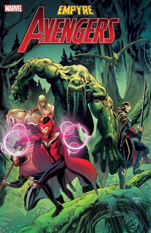 Empyre: Avengers #2 (Mora Cover)