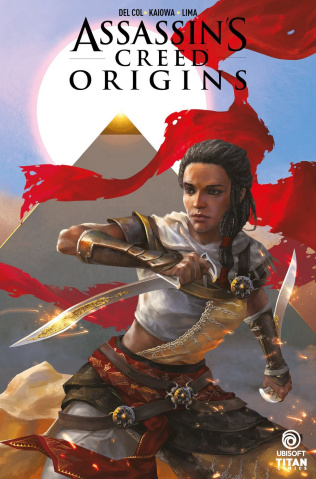 Assassin's Creed: Origins #1 (Sunsetagain Cover)