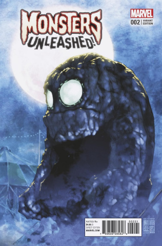 Monsters Unleashed! #2 (Asamiya Cover)