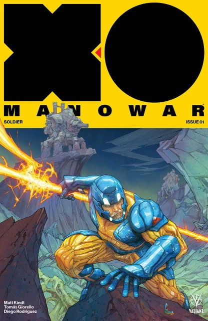 X-O Manowar #1 (Rocafort Cover)