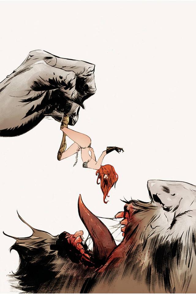 Red Sonja #22 (Lee Virgin Cover)