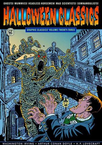 Graphic Classics Vol. 23: Halloween Classics