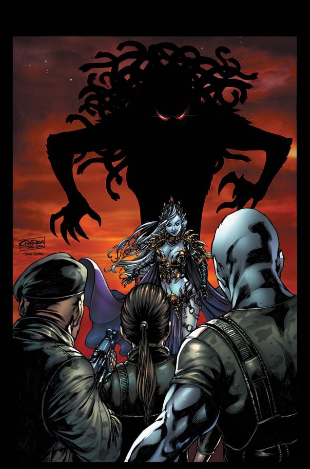 Grimm Fairy Tales: Escape From Monster Island #6 (Granda Cover)