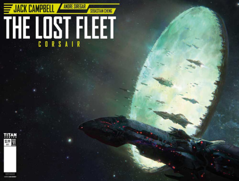 The Lost Fleet: Corsair #1 (Demaret Cover)