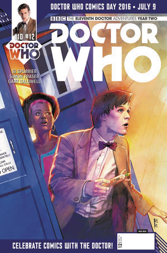 Doctor Who: New Adventures with the Eleventh Doctor, Year Two #11 (Doctor Who Day Cover)