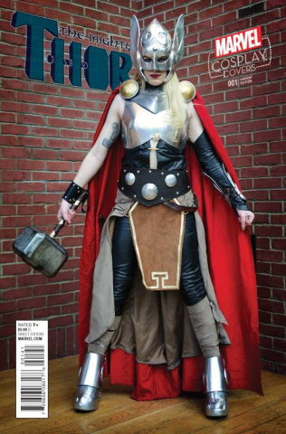 The Mighty Thor #1 (Cosplay Cover)