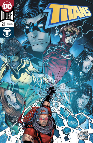 Titans #21 (Variant Cover)