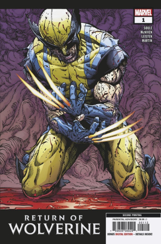 Return of Wolverine #1 (McNiven 2nd Printing)