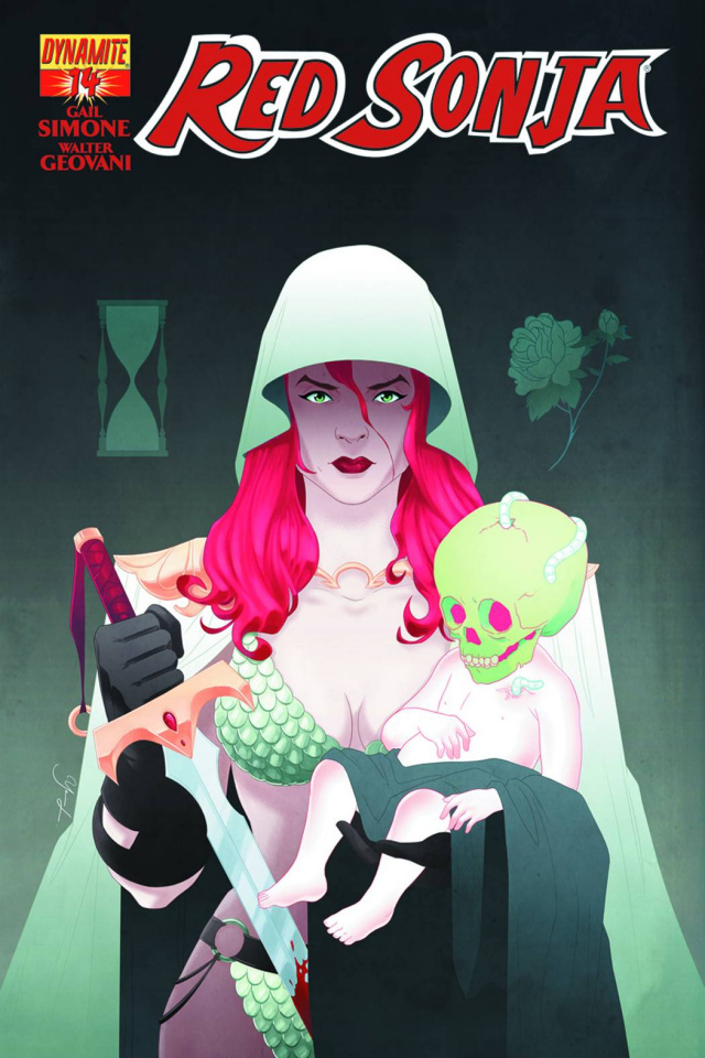 Red Sonja #14 (Liang Cover)