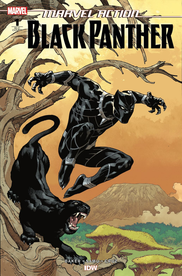 Marvel Action: Black Panther #1 (50 Copy Rodriguez Cover)