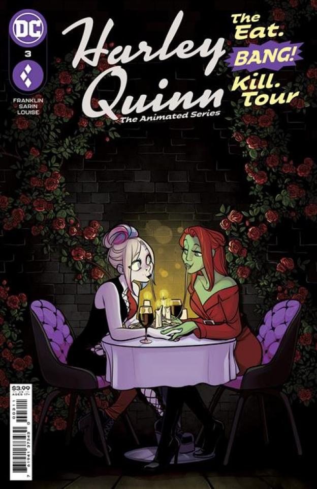 Harley Quinn: The Animated Series - The Eat, Bang, Kill Tour #3 (Max Sarin Cover)