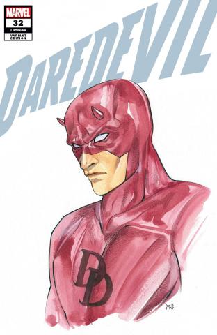 Daredevil #32 (Momoko Marvel Anime Cover)