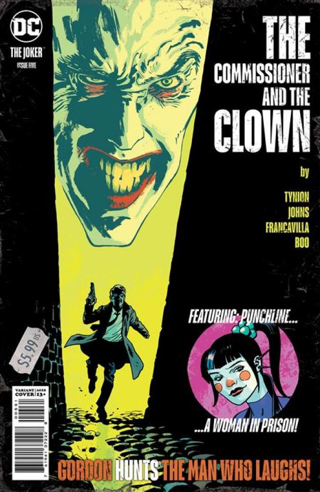Joker #5 (Sean Phillips Cover)