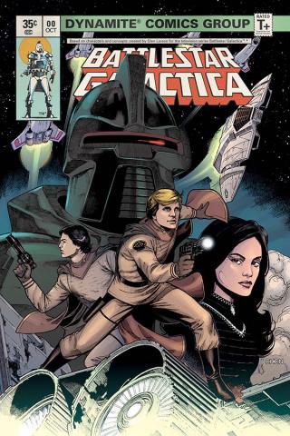Battlestar Galactica Classic #0 (Chen Cover)