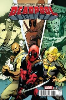 Deadpool #13 (Stevens Power Man and Iron Fist Cover)