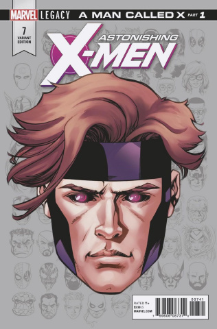 Astonishing X-Men #7 (McKone Legacy Headshot Cover)