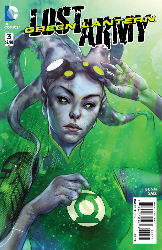 Green Lantern: The Lost Army #3 (Variant Cover)