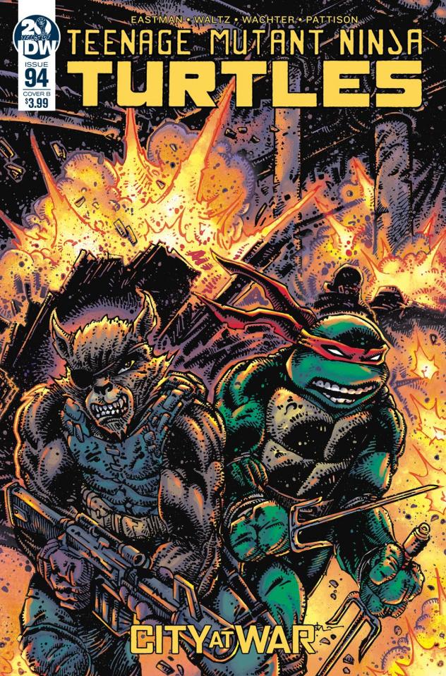 Teenage Mutant Ninja Turtles #94 (Eastman Cover)