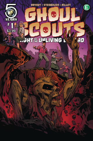Ghoul Scouts: Night of the Unliving Undead #1 (Izaakse Cover)