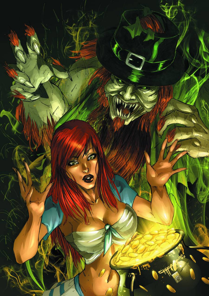 Grimm Fairy Tales St. Patricks's Day Special (Cafaro Cover)