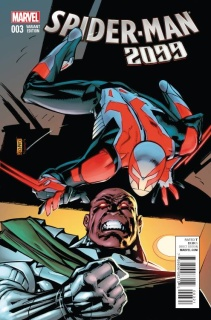 Spider-Man 2099 #3 (Leonardi Cover)