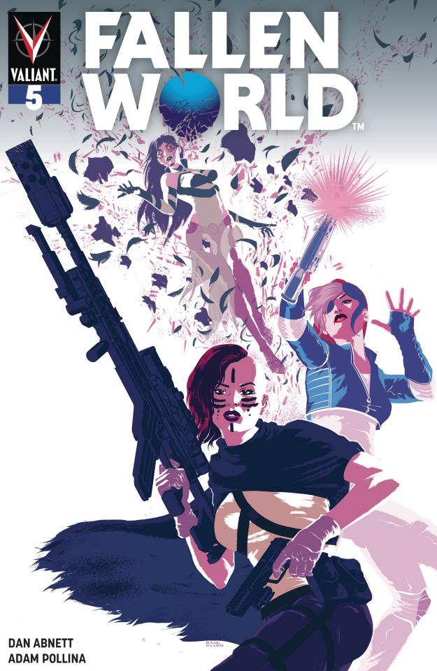 Fallen World #5 (Allen Cover)