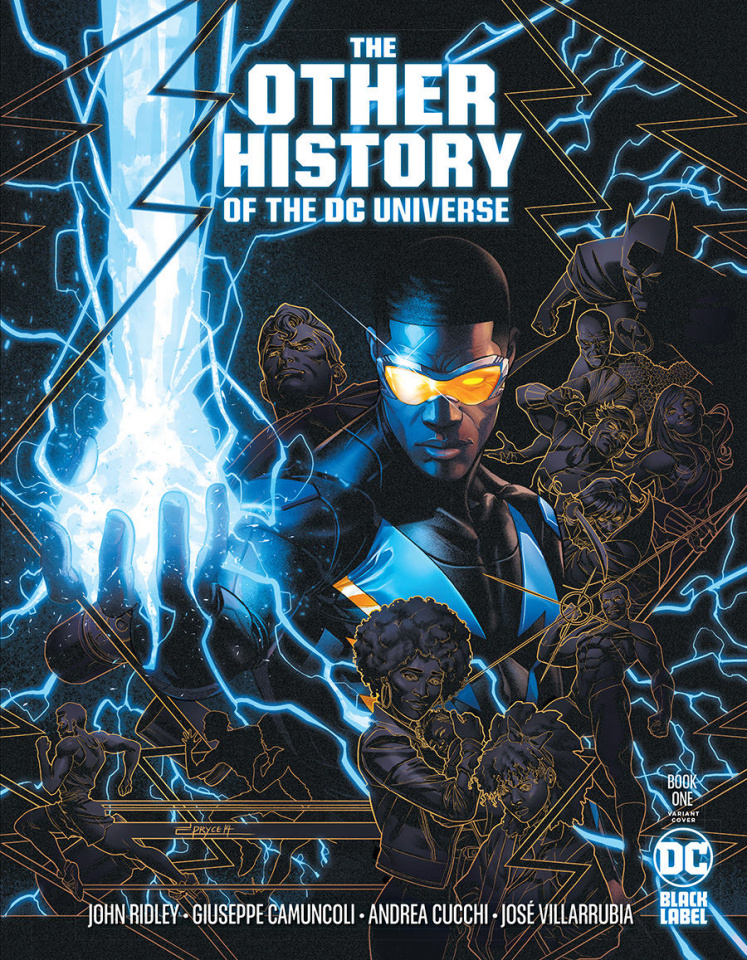 The Other History of the DC Universe #1 (Jamal Campbell Cover)
