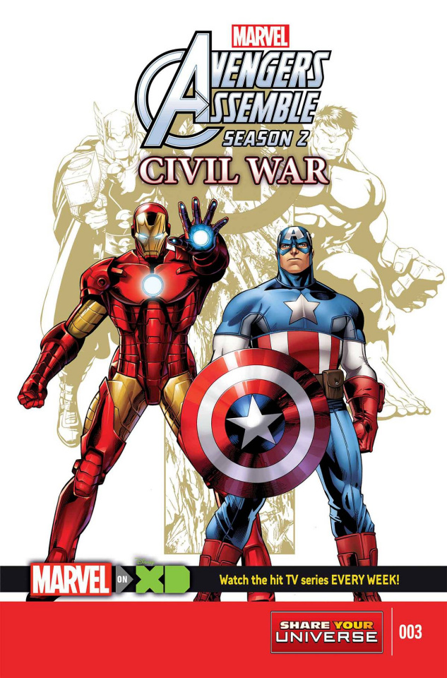 Marvel Universe Avengers Assemble: Civil War #3