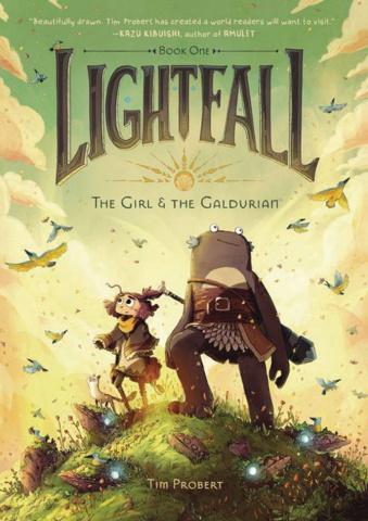 Lightfall Vol. 1: The Girl & The Galdurian